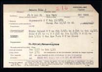 Ella Jane Osborn's service record. Click to enlarge.