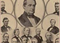 Lawmakers Who Voted Aye for the 13th Amendment, ca. 1865 (Gilder Lehrman Coll)