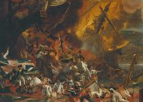 The Siege and Relief of Gibraltar, 13 September 1782, by John Singleton Copley,