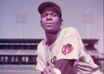 St. Louis Browns pitcher Satchel Paige, 1952. (LC-DIG-ppmsca-18778)