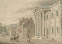 """Bank of the United States, with a View of Third Street Philadelphia"" (The Miria"