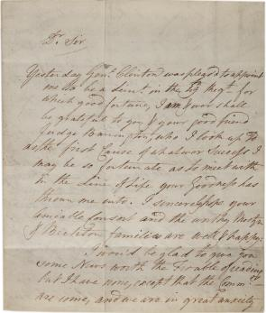 Samuel Mostyn to Thomas Pennant, June 7, 1778. (GLC09023)