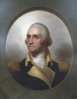 George Washington, by Rembrandt Peale, ca. 1852 (GLC09119.01)