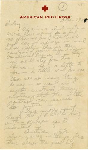 Sidney Diamond to Estelle Spero, January 21, 1945 (GLC09120.559)
