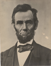 President Abraham Lincoln, November 8, 1863, eleven days before he gave the Gett