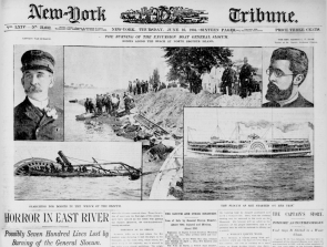 The June 16, 1904 front page of the New-York Tribune (Library of Congress)