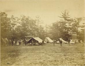 Field Relief Work at Gettysburg | The Gilder Lehrman