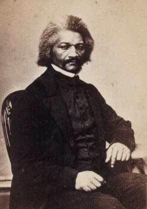 Frederick Douglass, ca. 1870 (Gilder Lehrman Collection)
