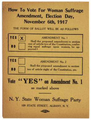 modern women persuading modern men the nineteenth amendment and how to vote for the w suffrage nys w suffrage party 1917