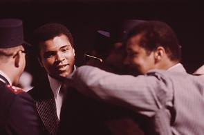 Muhammad Ali in Chicago, Illinois, March 1974. (NARA)