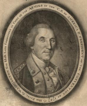 """His Excel: G: Washington,"" by C. W. Peale, 1787 (LC-DIG-ppmsca-17515)"