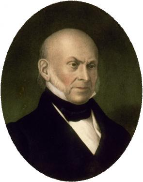 John Quincy Adams (Philadelphia: P. S. Duval, n.d.) (LOC LC-USZC4-5801)