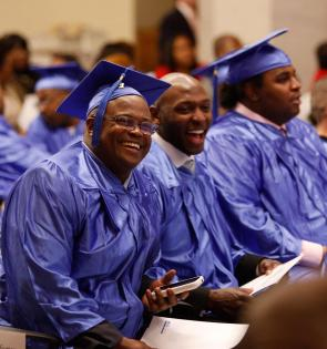 Graduates from Ready, Willing & Able (The Doe Fund)