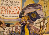 Detail from the Official Program for the Woman Suffrage Procession, Washington, DC, March 3, 1913. (Library of Congress Prints and Photographs Division)