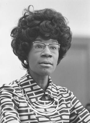 Shirley Chisholm (Library of Congress)