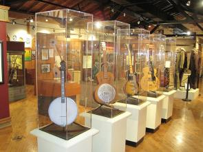 Classic blues instruments (Courtesy of the Delta Blues Museum)