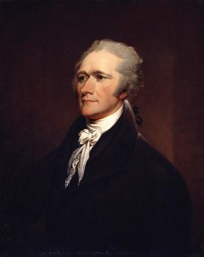 Alexander Hamilton by John Trumbull after Giuseppe Ceracchi, 1806 (National Portrait Gallery, Smithsonian Institution; Gift of Henry Cabot Lodge)