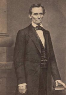Abraham Lincoln, by Mathew Brady, February 27, 1860. (GLC05136.01)