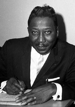 Muddy Waters, 1964. Courtesy of photographer Brian Smith.