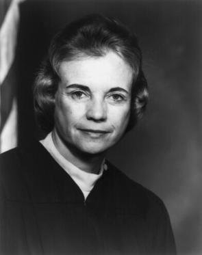 Sandra Day O'Connor, ca. 1982 (Library of Congress)