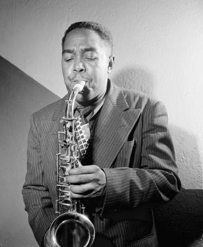 Charlie Parker, New York, ca. 1947, by William P. Gottlieb (Library of Congress)