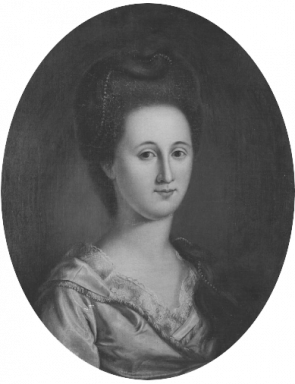 Esther DeBerdt Reed (ca. 1785), by Charles Willson Peale (Courtesy of the Frick Art Reference Library)