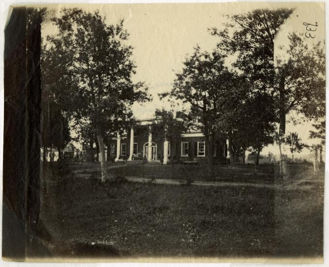 Marye's house, Fredericksburg, Va., circa 1862-1865. (Gilder Lehrman Collection)