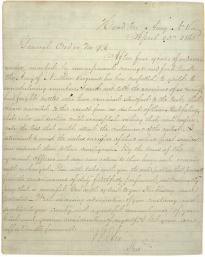 Robert E. Lee's General Order No. 9, April 10, 1865. (GLC00035)