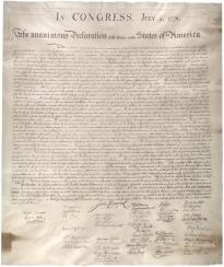 The Declaration Of Independence Gilder Lehrman Institute Of
