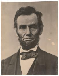 Photograph of Abraham Lincoln, November 1863. (Gilder Lehrman Collection)