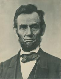 Abraham Lincoln, November 1863. (Gilder Lehrman Collection)
