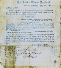 P. G. T. Beauregard, General Orders 44, May 19, 1862. (GLC00666)