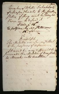 Pierce Butler's Notebook, page 4. (The Gilder Lehrman Co