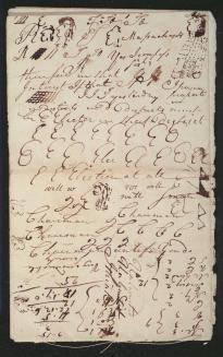Pierce Butler's Notebook, page 5. (The Gilder Lehrman Co