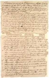 Stephen Austin's contract to bring settlers to Texas, June 4, 1825 (Gilder L