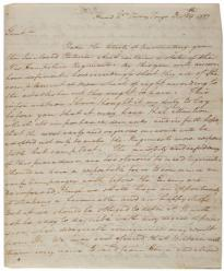 George Washington to the New Hampshire legislature, December 29, 1777. (GLC)