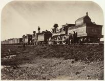 """Gen. Casement's Construction Train."" (Gilder Lehrman Collection)"