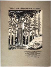 Enlistment poster for the Arizona Civilian Conservation Corps., September 24, 1938. (Gilder Lehrman Collection)