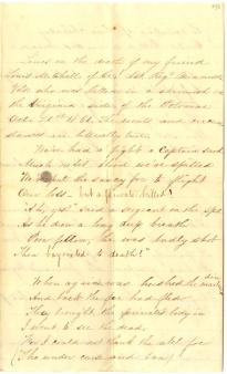 "Hanford L. Gordon, ""Only a Private Killed,"" November 12, 1861. (GLC06559.038)"