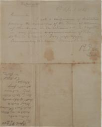 Robert E. Lee to Ulysses S. Grant, April 9, 1865. (GLC07967)