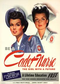 Be a Cadet Nurse, United States Public Health Service, 1944. (GLC09520.04)