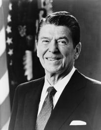 Ronald Reagan, official White House photograph, 1981 (Library of Congress Prints and Photographs Division)