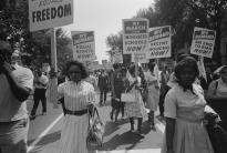 Civil Rights March on Washington DC, August 28, 1963. (Library of Congress)