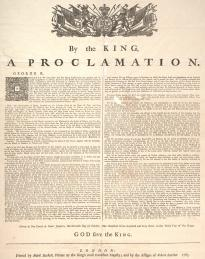 Proclamation of 1763 (GLC05214)