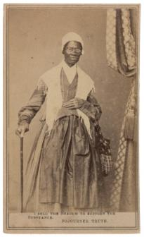 Sojourner Truth, 1864. (GLC06391.20)