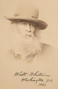 Walt Whitman, 1863 (Library of Congress Prints and Photographs Division)