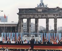 Ronald Reagan at the Berlin Wall, 1987. (Ronald Reagan Library)