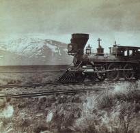 """""""Scene near Deeth; Mount Halleck in distance,"""" by Alfred Hart, ca. 1867 (LOC)"""