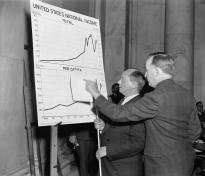 Commissioner of Labor Statistics explains loss of wages since 1929. (LOC, P&P)