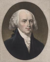 James Madison, by A. Newsam, Philadelphia, 1846. (LC-DIG-ppmsca-30581)